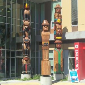 SH totem poles -- July 2015